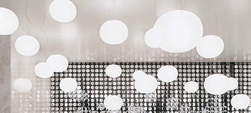 Glo ball simply versatile flos usa inc when jasper morrisons glo ball lighting family was introduced by flos in 1999 it became one of the best selling families of lamps in the catalog aloadofball Images