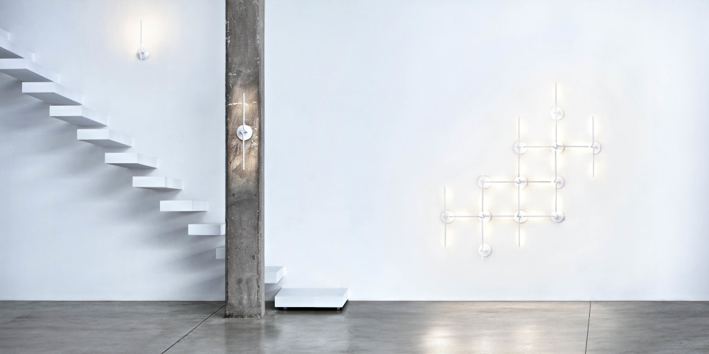 Light Spring Wall Lamp by Ron Gilad