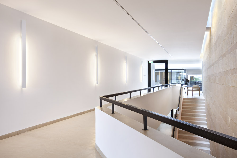 Flos RIGA architectural lighting at Rocco Forte Hotels