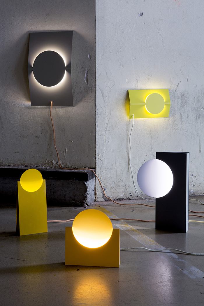 Sanne Schuurman's Sculptural Eclipse Light