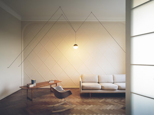 String Lights by Michael Anastassiades - Hanging Lights For Living Room