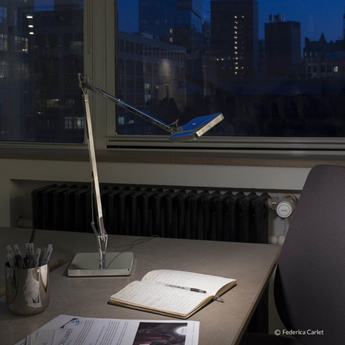 Kelvin LED Green Mode I Table Lamp by Antonio Citterio