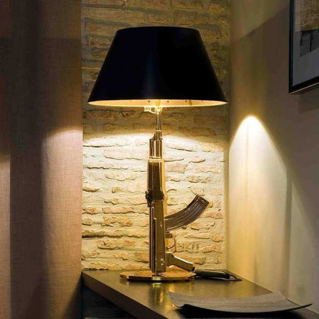 Gun Lamp by Philippe Starck - Designer Table Lamp