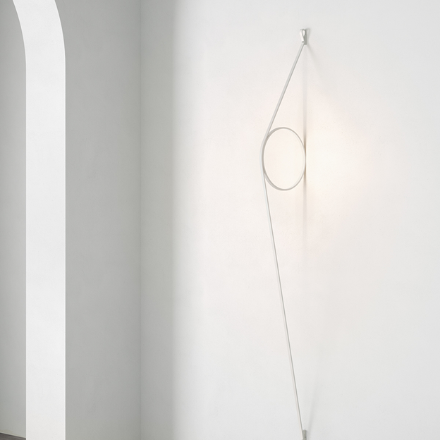 WireRing Contemporary Wall Light by Formafantasma