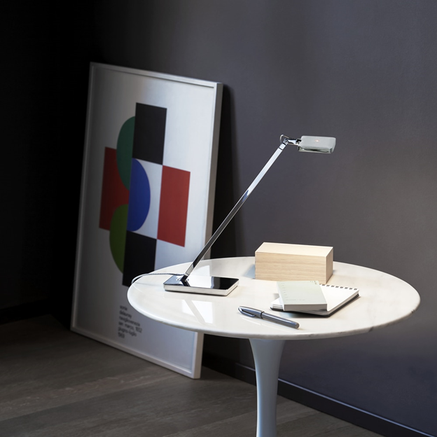 Mini Kelvin LED Desk Lamp by Antonio Citterio