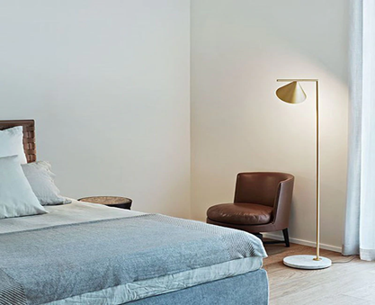 Captain Flint Floor Lamp by Michael Anastassiades