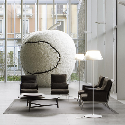 Romeo Moon F Decorative Floor Lamp by Philippe Starck